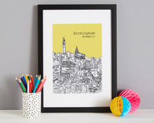 Load image into Gallery viewer, Personalised Birmingham Print-4