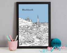 Load image into Gallery viewer, Personalised Blackheath Print-7