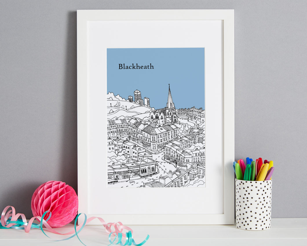 Personalised Blackheath Print-1