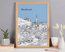Load image into Gallery viewer, Personalised Blackheath Print