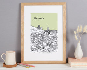 Personalised Blackheath Print