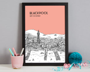 Personalised Blackpool Print-3