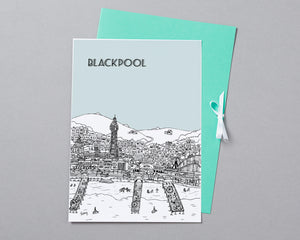Personalised Blackpool Print-5