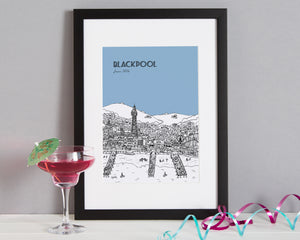 Personalised Blackpool Print-4