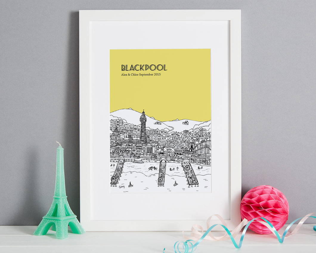 Personalised Blackpool Print-1