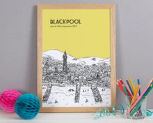 Load image into Gallery viewer, Personalised Blackpool Print