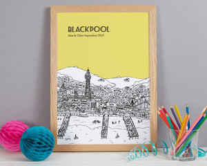 Personalised Blackpool Print