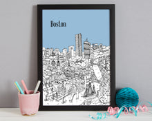 Load image into Gallery viewer, Personalised Boston Print-5