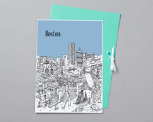 Load image into Gallery viewer, Personalised Boston Print-6