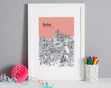 Load image into Gallery viewer, Personalised Boston Print-7