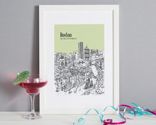 Load image into Gallery viewer, Personalised Boston Print-1