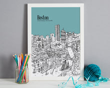 Load image into Gallery viewer, Personalised Boston Print-3