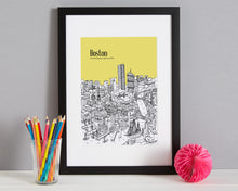 Load image into Gallery viewer, Personalised Boston Print-4