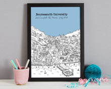 Load image into Gallery viewer, Personalised Bournemouth Graduation Gift