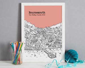 Personalised Bournemouth Print-5