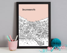 Load image into Gallery viewer, Personalised Bournemouth Print-7