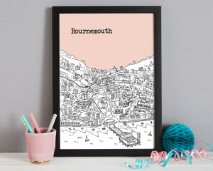 Personalised Bournemouth Print-7