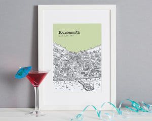 Personalised Bournemouth Print-6