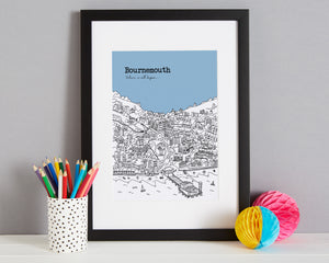 Personalised Bournemouth Print-3