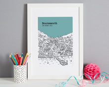 Load image into Gallery viewer, Personalised Bournemouth Print-1
