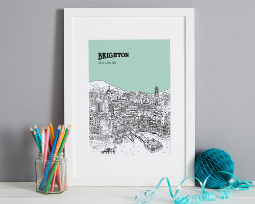 Personalised Brighton Print-1