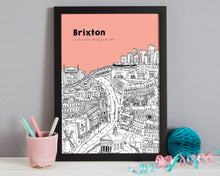 Load image into Gallery viewer, Personalised Brixton Print-7