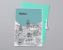 Load image into Gallery viewer, Personalised Bruges Print-5
