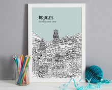 Load image into Gallery viewer, Personalised Bruges Print-6