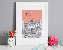 Load image into Gallery viewer, Personalised Bruges Print-7