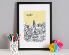 Load image into Gallery viewer, Personalised Bruges Print-4