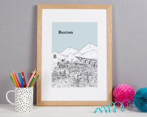 Personalised Buxton Print