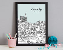 Load image into Gallery viewer, Personalised Cambridge Print-3
