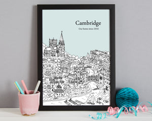 Personalised Cambridge Print-3