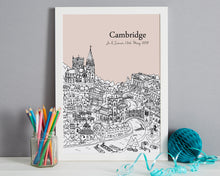 Load image into Gallery viewer, Personalised Cambridge Print-6