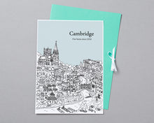Load image into Gallery viewer, Personalised Cambridge Print-5