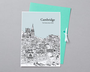 Personalised Cambridge Print-5
