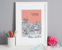 Load image into Gallery viewer, Personalised Cambridge Print-7