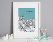 Load image into Gallery viewer, Personalised Cambridge Print-1