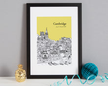 Load image into Gallery viewer, Personalised Cambridge Print-4
