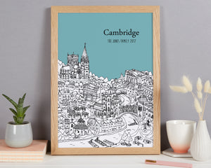 Personalised Cambridge Print