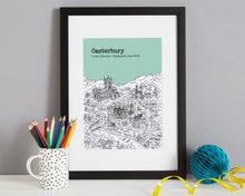Load image into Gallery viewer, Personalised Canterbury Graduation Gift