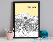 Load image into Gallery viewer, Personalised Cape Town Print-2