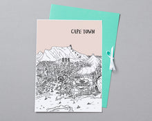 Load image into Gallery viewer, Personalised Cape Town Print-4