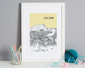 Personalised Cape Town Print-1