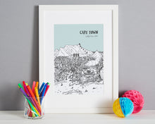 Load image into Gallery viewer, Personalised Cape Town Print-6