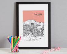 Load image into Gallery viewer, Personalised Cape Town Print-3