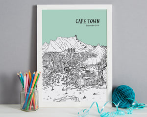 Personalised Cape Town Print-5