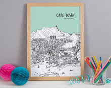 Load image into Gallery viewer, Personalised Cape Town Print