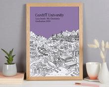 Load image into Gallery viewer, Personalised Cardiff Graduation Gift