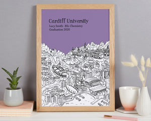 Personalised Cardiff Graduation Gift